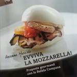 """La copertina del libro di Rosanna Marziale """"Evviva la Mozzarella!"""" ed. Gribaudo"""