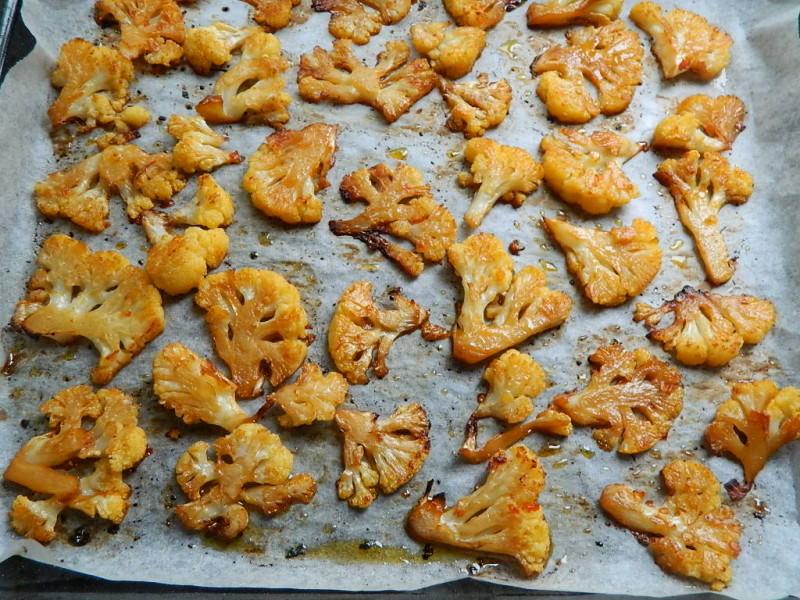 Cavolfiore piccante al forno