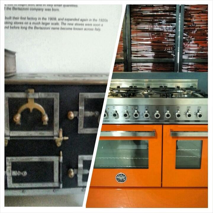 Le cucina Bertazzoni ieri e oggi