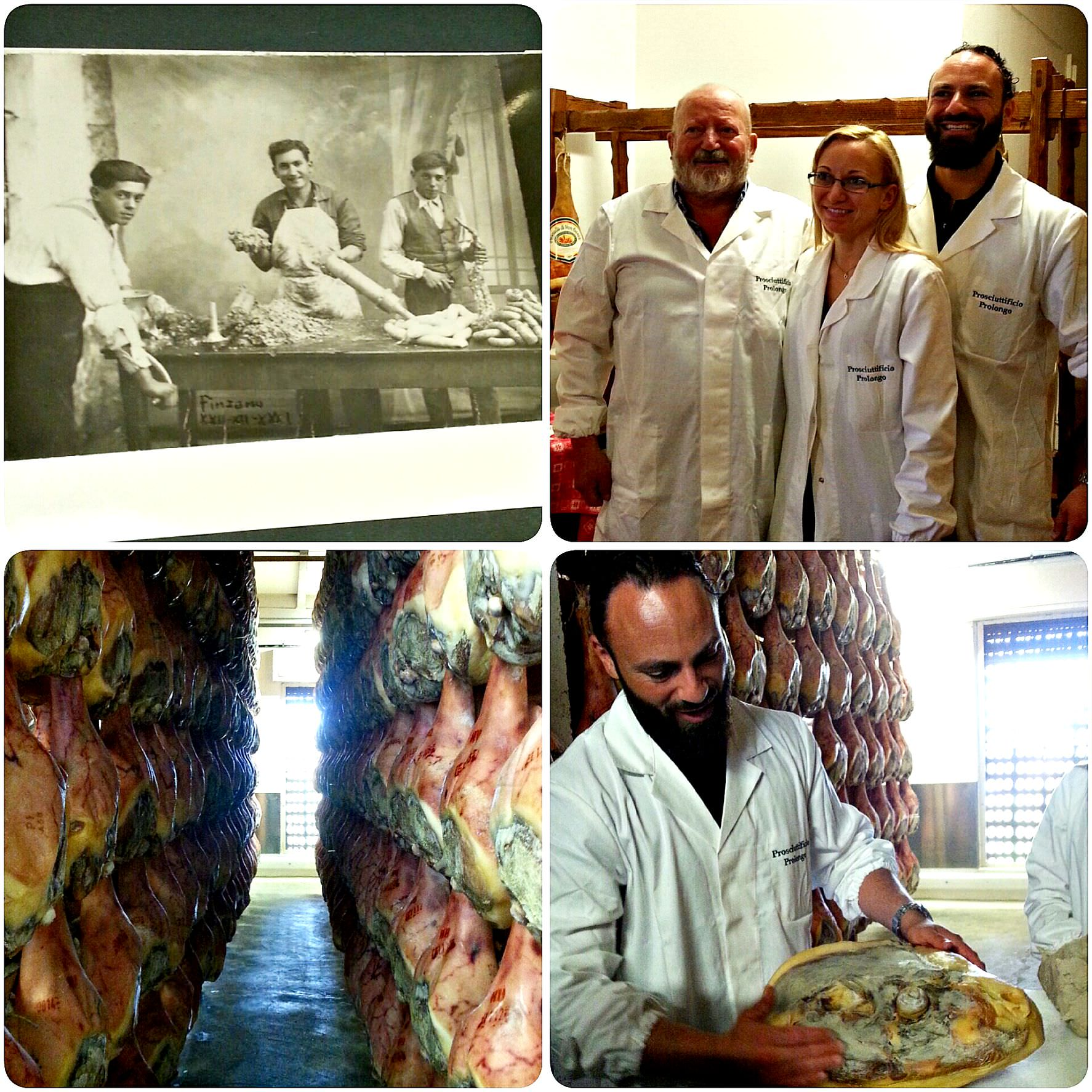 La familgia Prolongo: artigiani del prosciutto San Daniele da tre generazioni