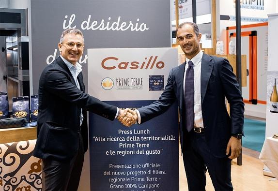 Casillo e Zampino (Pastificio Gentile) Filiera Prime Terre grano campano 100%